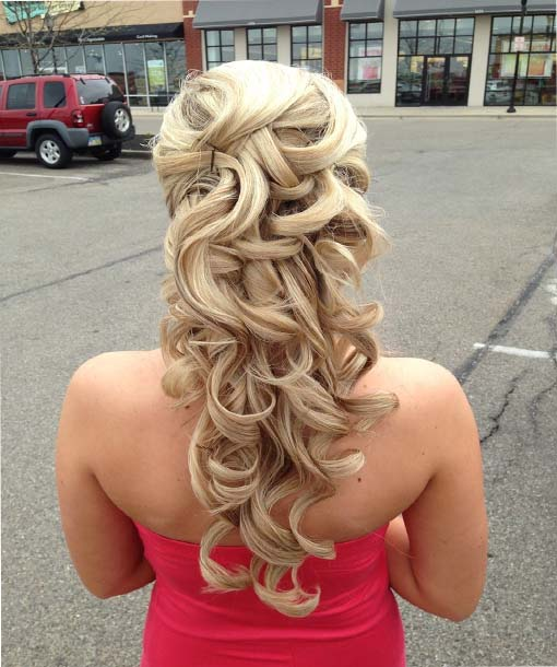 Stupendous Half Up Half Down Prom Hairstyles Short Hairstyles For Black Women Fulllsitofus
