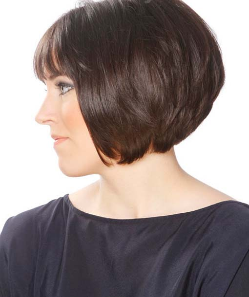 Backside of Short Hairstyles