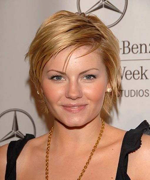 Round Face hairstyles 2012