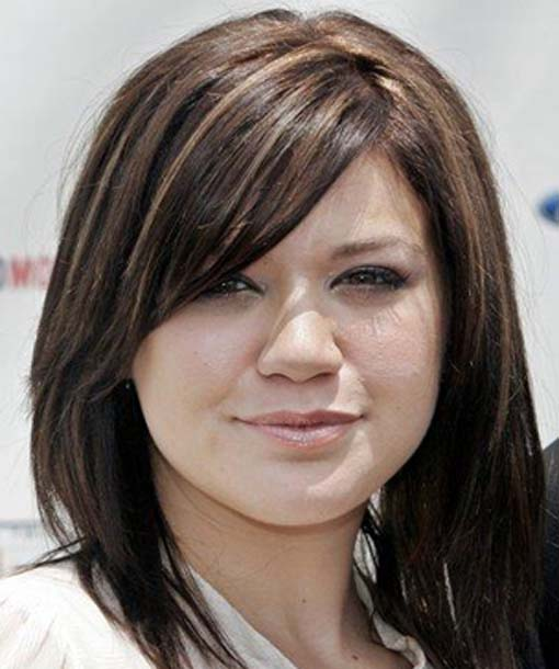 Hairstyles for Round Face 2012