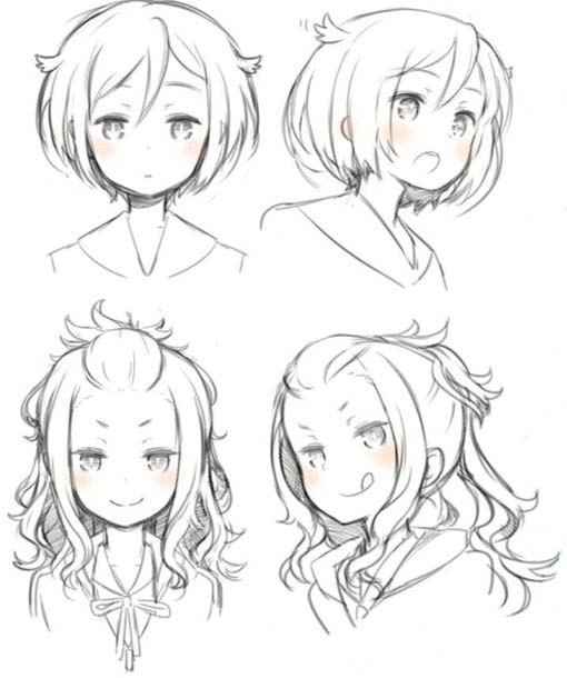 Marvelous Anime Hairstyles New Trend Among Teenagers Hairstyles For Men Maxibearus