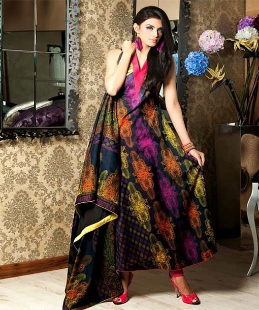 Printed Frocks for Girls