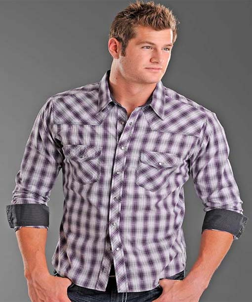 Check Styled Shirts for Men