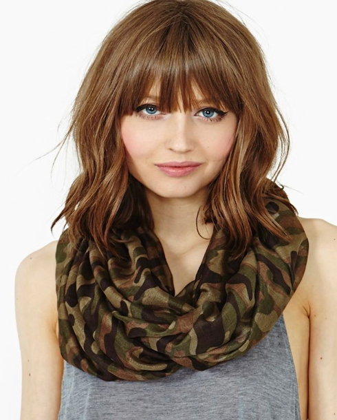 Oblong Face Hairstyles Bangs