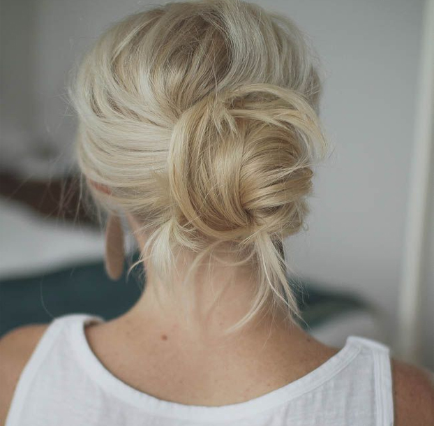 Stylish Chignon Buns 2016
