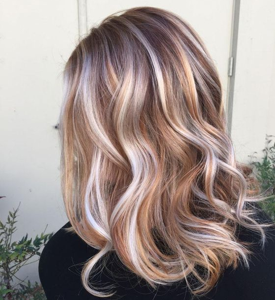 Different Shades of Copper Color in Hair 2016