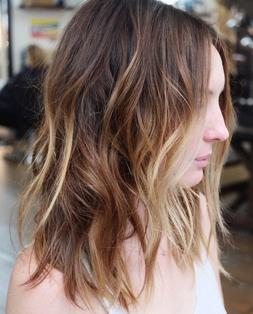 Some great choppy layered hairstyles 2018