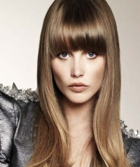 Full Fringe Hairstyles 2012