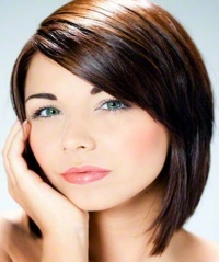 Hairstyles for round faces 2013