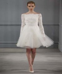 Short Wedding Dresses 2014