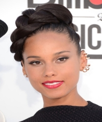 Alicia Keys Hairstyle 2015