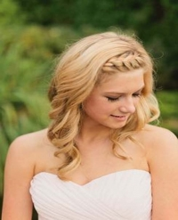 Hairstyles for beach wedding (part 2)