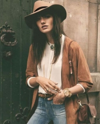 Bohemian style hats for women