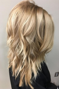 Medium Length Layered Hairstyles 2017 - 2018 for Women