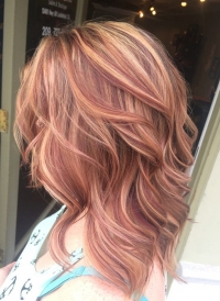 Caramel & Blonde Hair Color Ideas for Fall/Winter 2017 - 2018 with Glowing Tones of Brown