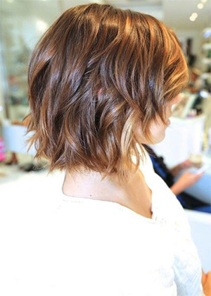 chic short haircut 2016 with a smooth finish