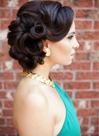 Classic Vintage Updos For - Classic vintage hairstyle