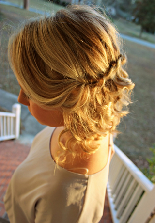 homecoming hairstyles for short hair 2016