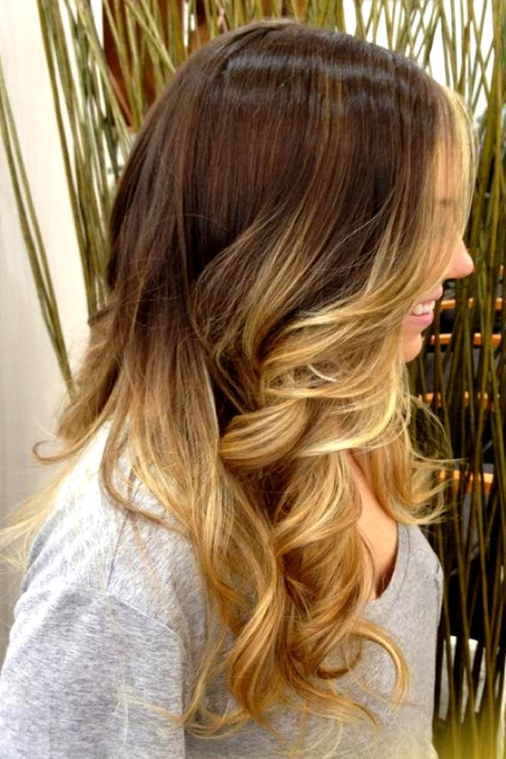 OmbreTo Blonde Brown Hair Color Ideas for Summer 2017