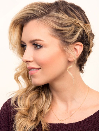 side updo hairstyles 2016 for long hair